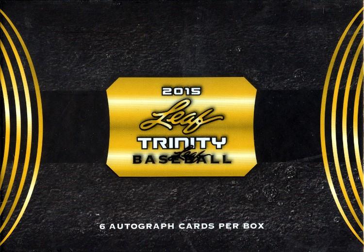 2015 Leaf Trinity Baseball 12 Box Case