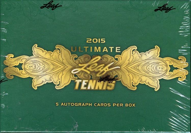 2015 Leaf Ultimate Tennis Hobby Box