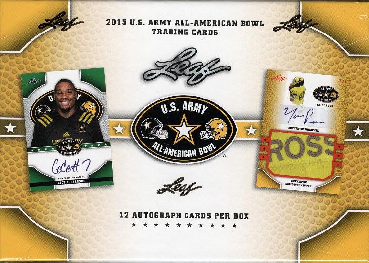 2015 Leaf US Army All American Football Box