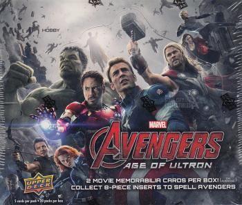 2015 Upper Deck Marvel Avengers 2: Age of Ultron Hobby Box