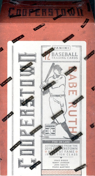 2015 Panini Cooperstown Baseball Hobby 15 Box Case