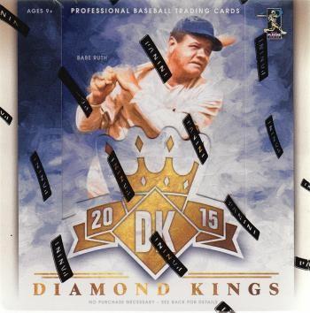 2015 Panini Donruss Diamond Kings Baseball Hobby 16 Box Case