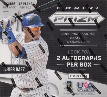 2015 Panini Prizm Baseball Hobby Box