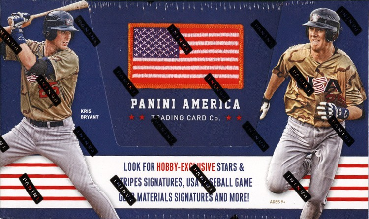 2015 Panini Stars and Stripes Baseball Hobby Box