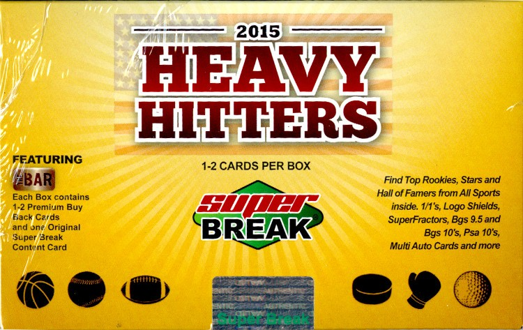 2015 Super Break Heavy Hitters Box