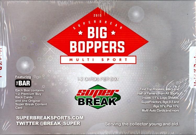 2015 Super Break Big Boppers 2 Box Case