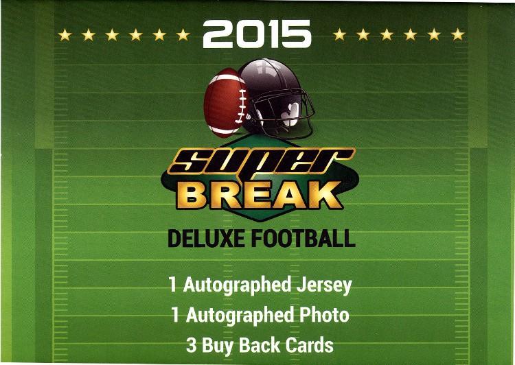 2015 Super Break Football Deluxe Edition Box