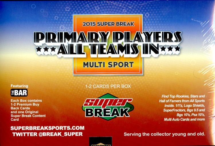 2015 Super Break Primary Players: All Teams In - 4 Box Case