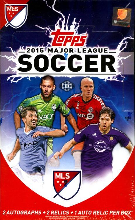 2015 Topps MLS Soccer 12 Box Case