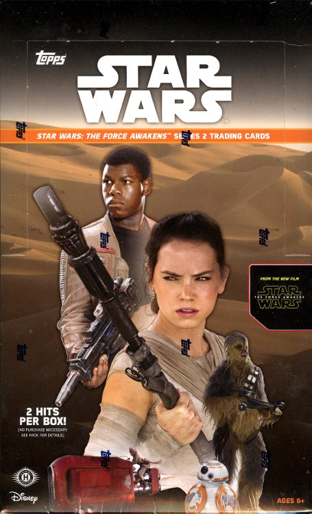 2015 Topps Star Wars The Force Awakens Series 2 Hobby Box