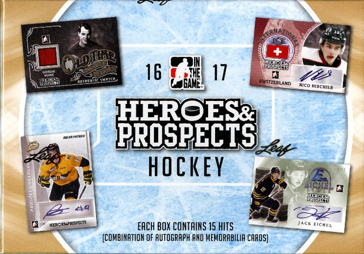 2016/17 Leaf ITG Heroes and Prospects Hockey Hobby Box