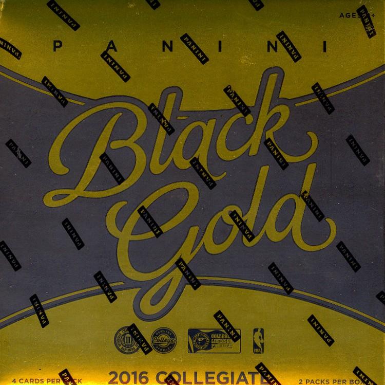 2016/17 Panini Black Gold College Basketball Hobby 8 Box Case