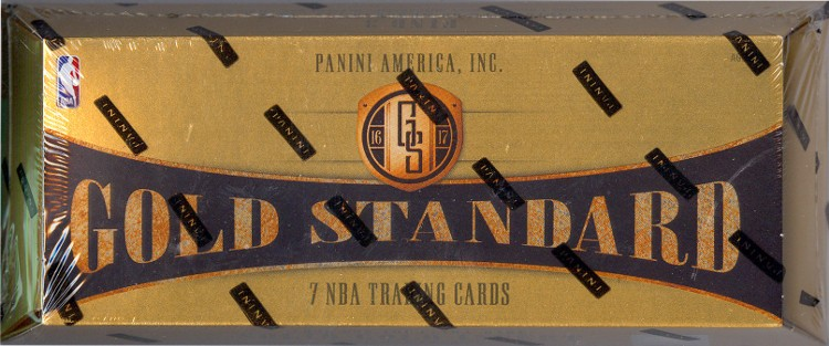 2016/17 Panini Gold Standard Basketball Hobby Box