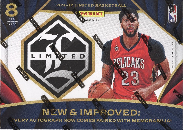 2016/17 Panini Limited Basketball Hobby 12 Box Case