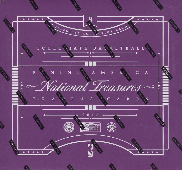 2016/17 Panini National Treasures College Basketball 4 Box Case