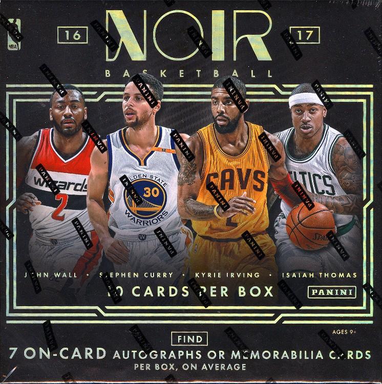2016/17 Panini Noir Basketball Hobby 4 Box Case