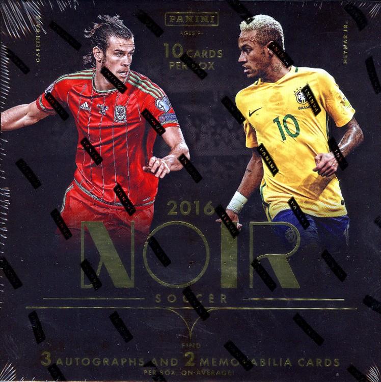 2016/17 Panini Noir Soccer Hobby 3 Box Case