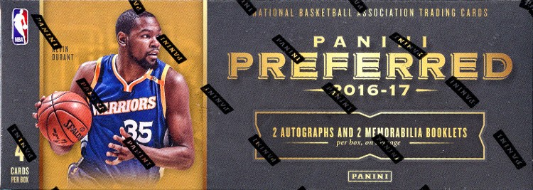 2016/17 Panini Preferred Basketball Hobby Box
