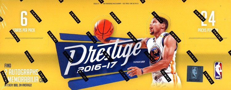 2016/17 Panini Prestige Basketball 16 Box Case + 32 Panini Day