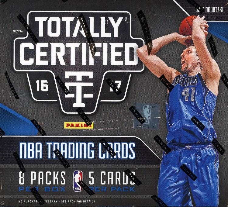 2016/17 Panini Totally Certified Basketball Hobby Box