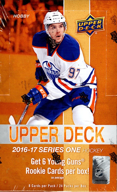 2016/17 Upper Deck Series 1 Hockey Hobby 12 Box Case