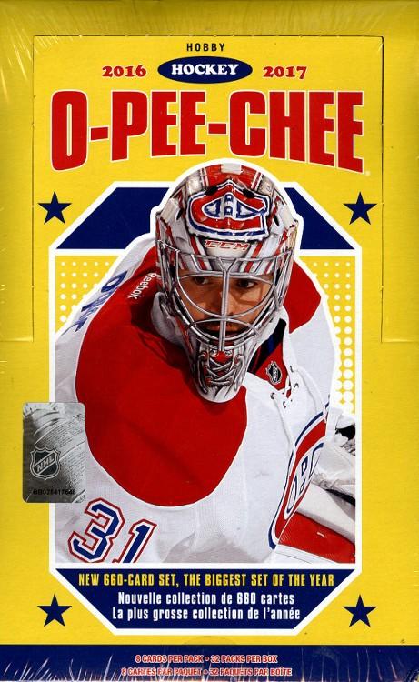 2016/17 Upper Deck O-Pee-Chee Hockey Hobby Box