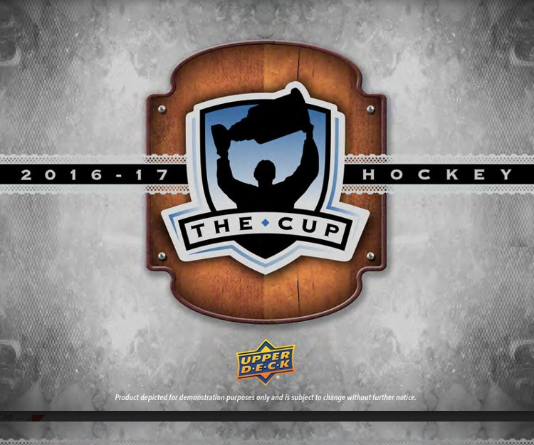 2016/17 Upper Deck The Cup Hockey Hobby 6 Box Case