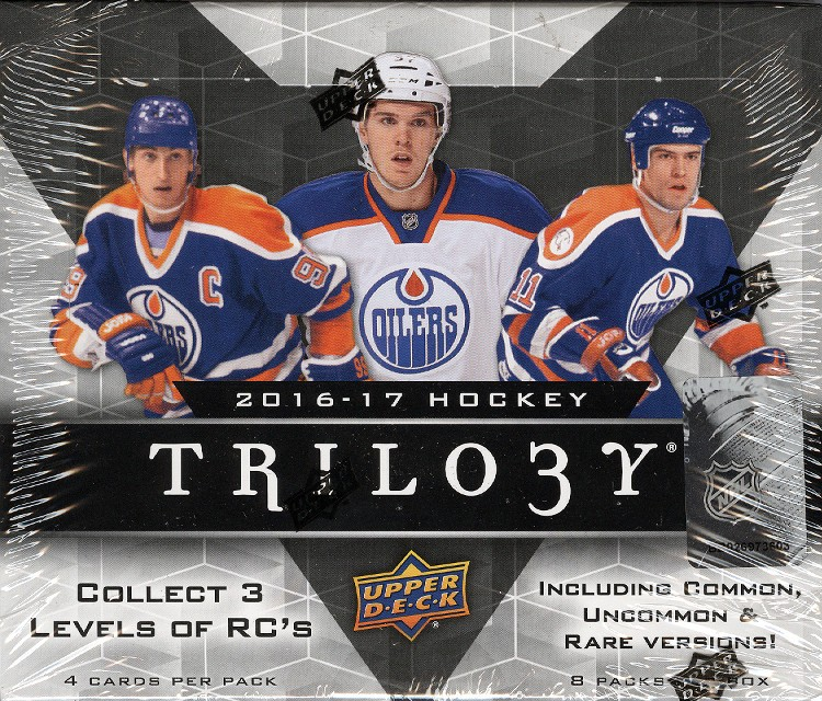 2016/17 Upper Deck Trilogy Hockey Hobby 10 Box Case