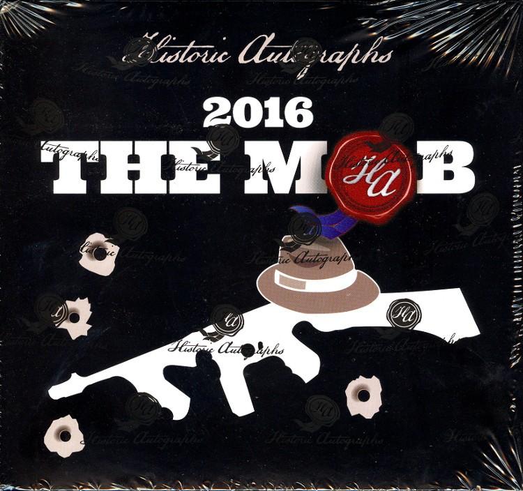 2016 Historic Autographs The Mob Premium 8 Box Case