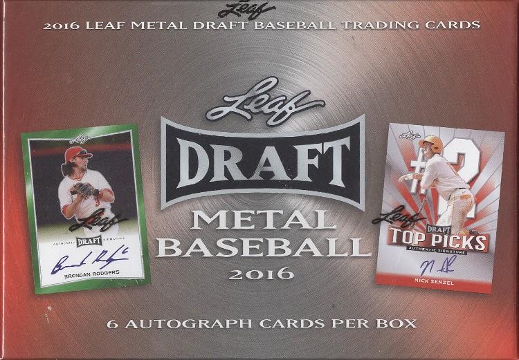 2016 Leaf Metal Baseball Hobby Box