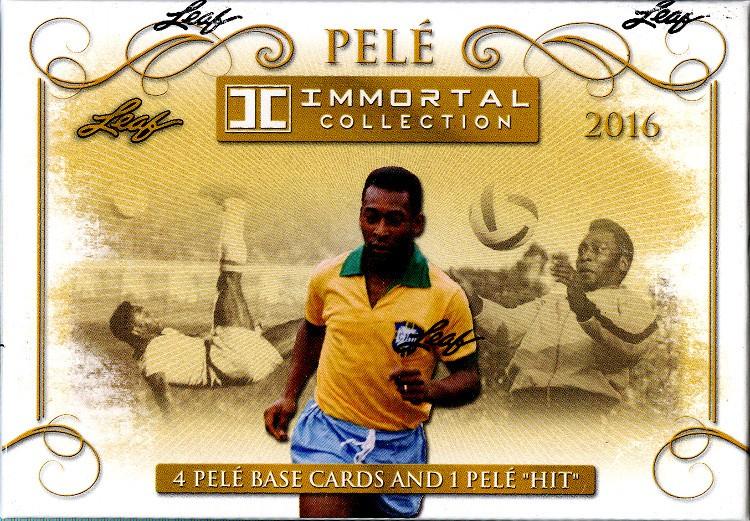 2016 Leaf Pele Immortal Collection 5 Box Case