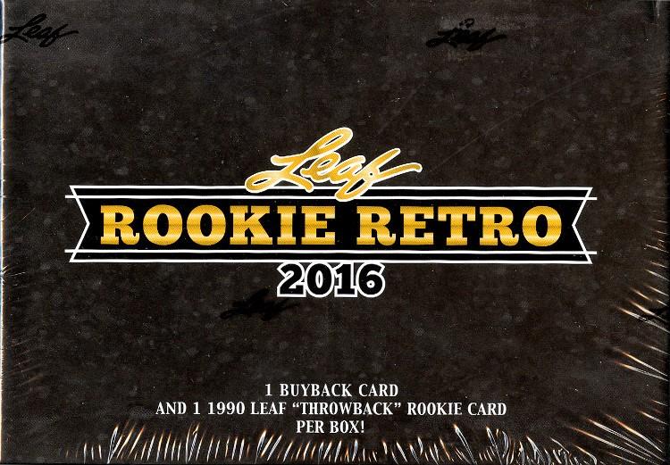 2016 Leaf Rookie Retro 5 Box Case