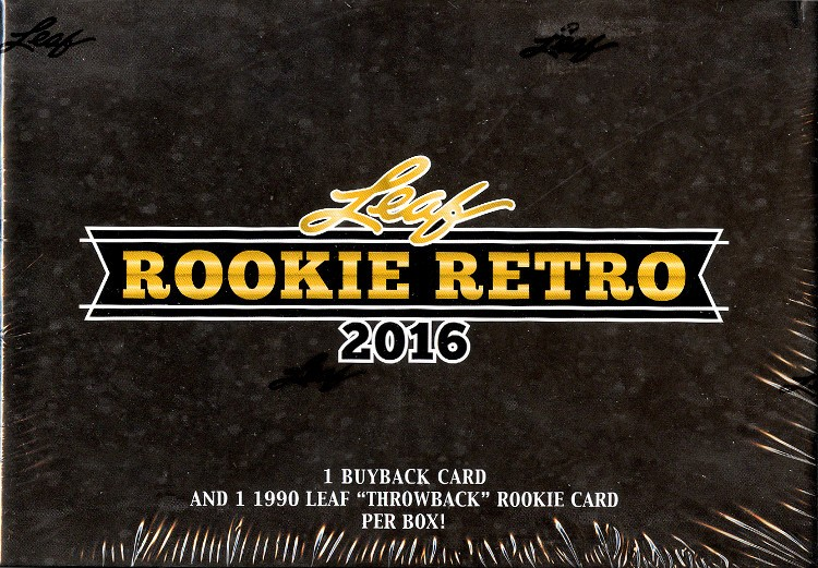 2016 Leaf Rookie Retro Box