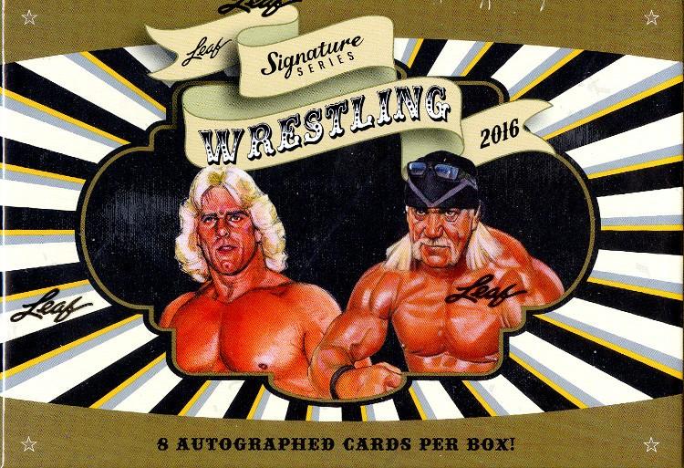 2016 Leaf Signature Series Wrestling Box