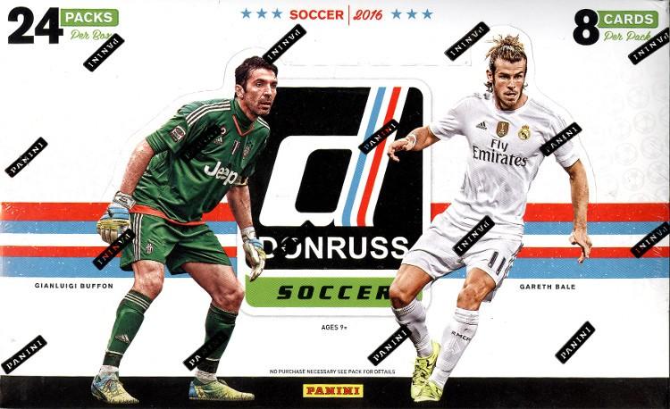 2016 Panini Donruss Soccer Box
