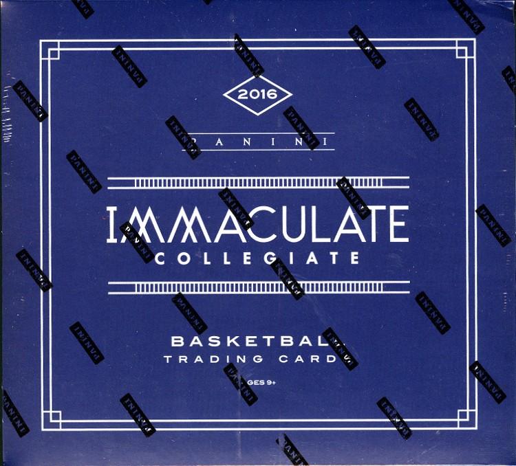 2016 Panini Immaculate Collegiate Basketball Hobby 5 Box Case