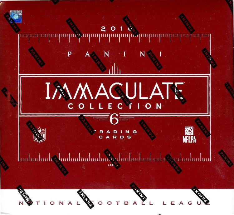 2016 Panini Immaculate Football Hobby 6 Box Case