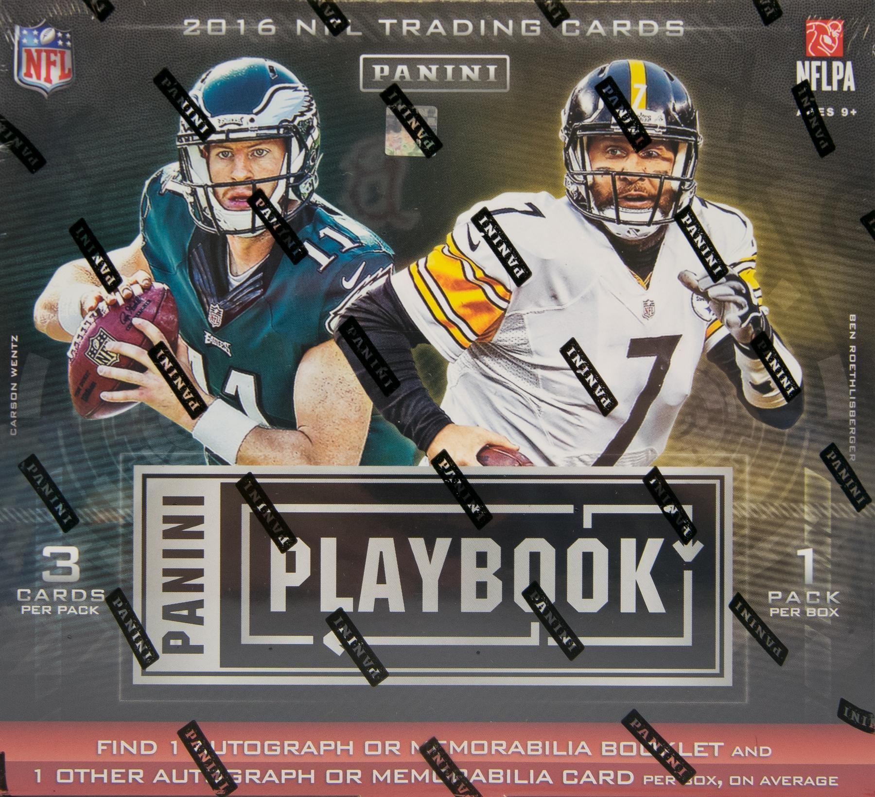 2016 Panini Playbook Football Hobby Box
