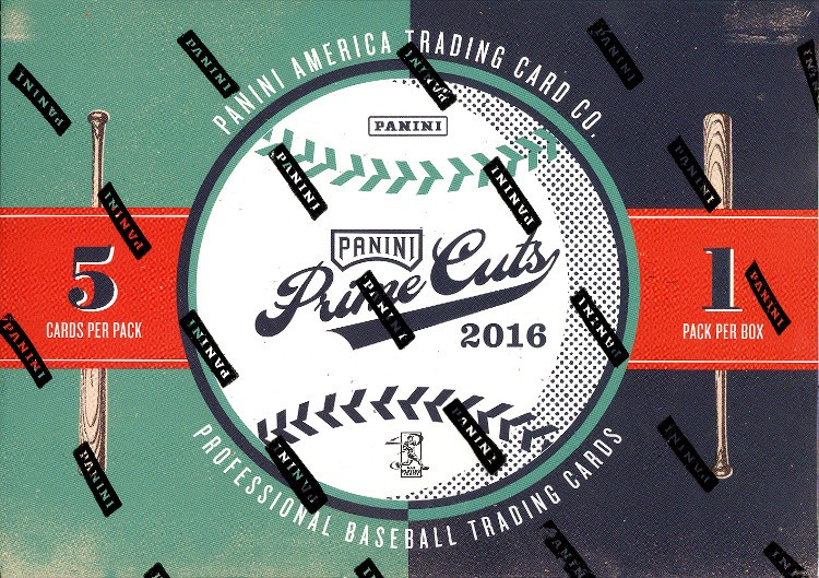 2016 Panini Prime Cuts Baseball Hobby 10 Box Case
