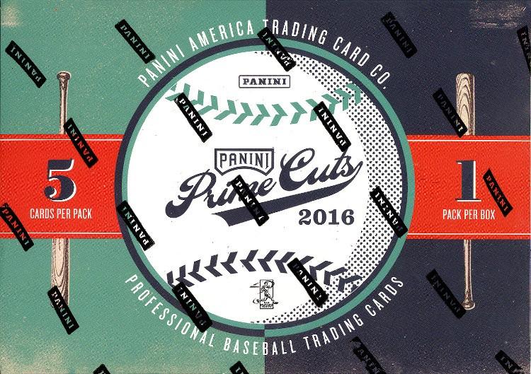 2016 Panini Prime Cuts Baseball Hobby Box