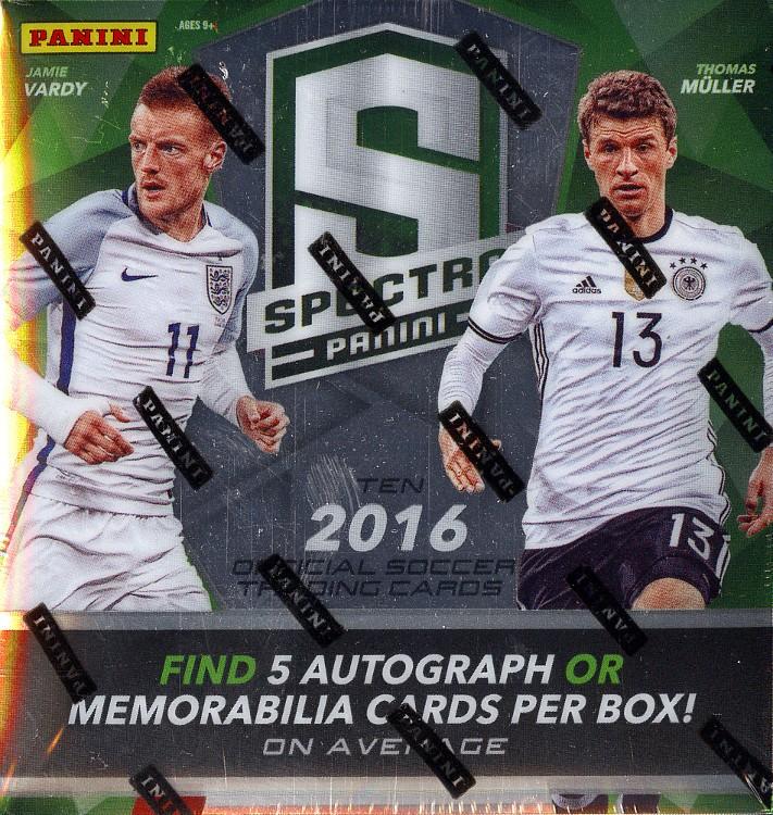 2016 Panini Spectra Soccer Hobby Box