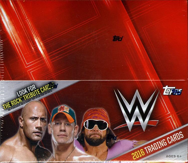 2016 Topps WWE Wrestling Hobby 8 Box Case