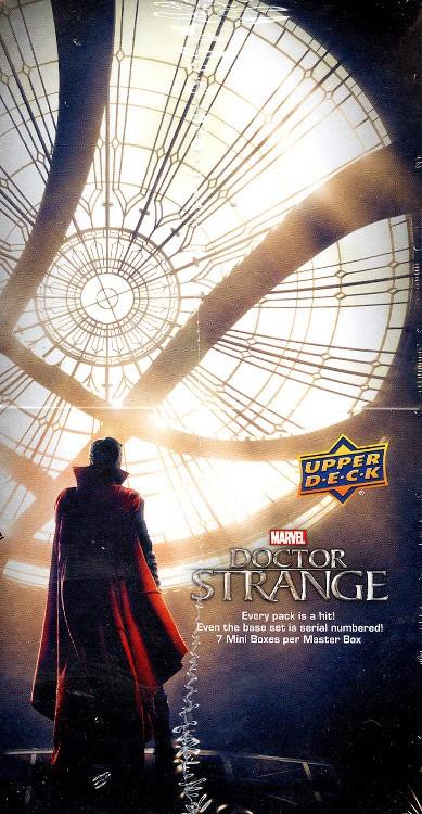2016 Upper Deck Marvel Doctor Strange Trading Card Box