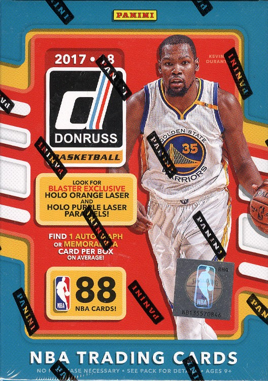 2017/18 Panini Donruss Basketball Blaster 20 Box Case