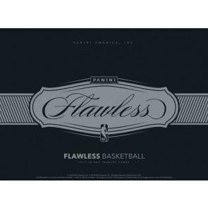 2017/18 Panini Flawless Basketball Hobby 2 Box Case