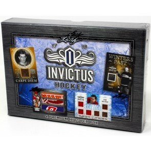 2017/18 Leaf Invictus Hockey 12 Box Case