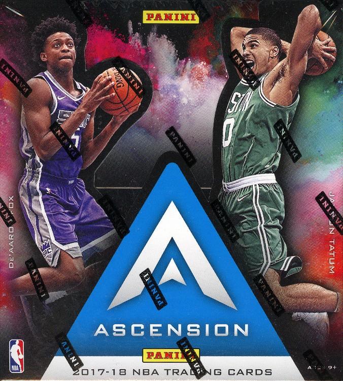 2017/18 Panini Ascension Basketball Hobby Box