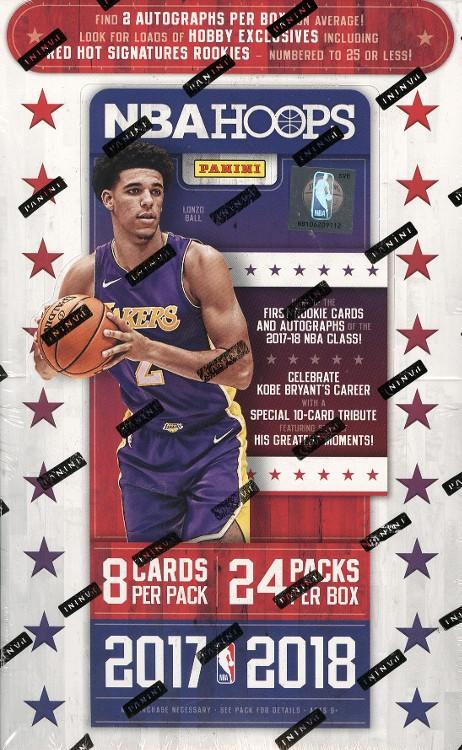 2017/18 Panini NBA Hoops Basketball Hobby 20 Box Case