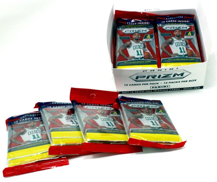 2017/18 Panini Prizm Basketball Super Value Rack 20 Box Case