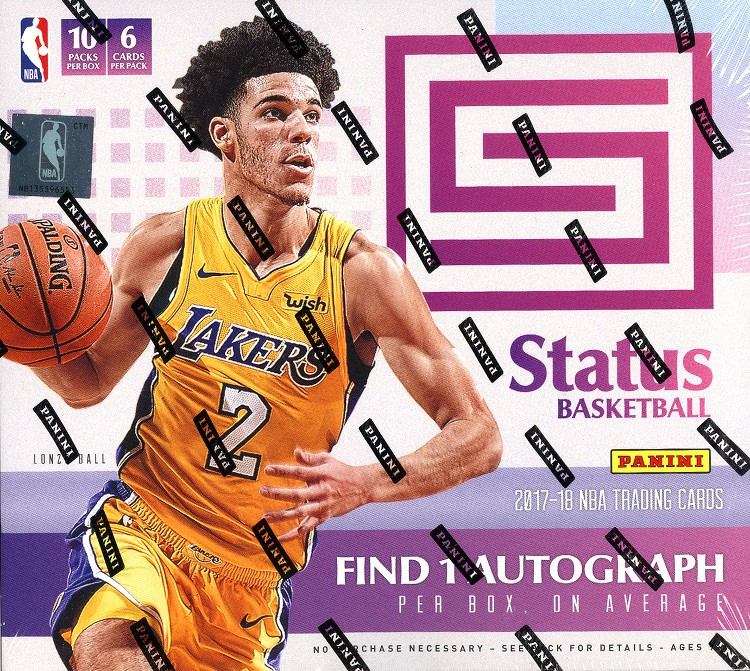 2017/18 Panini Status Basketball Hobby 20 Box Case